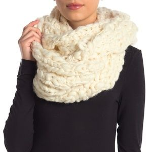 Free People Dreamland Chunk Knit Infinity Scarf